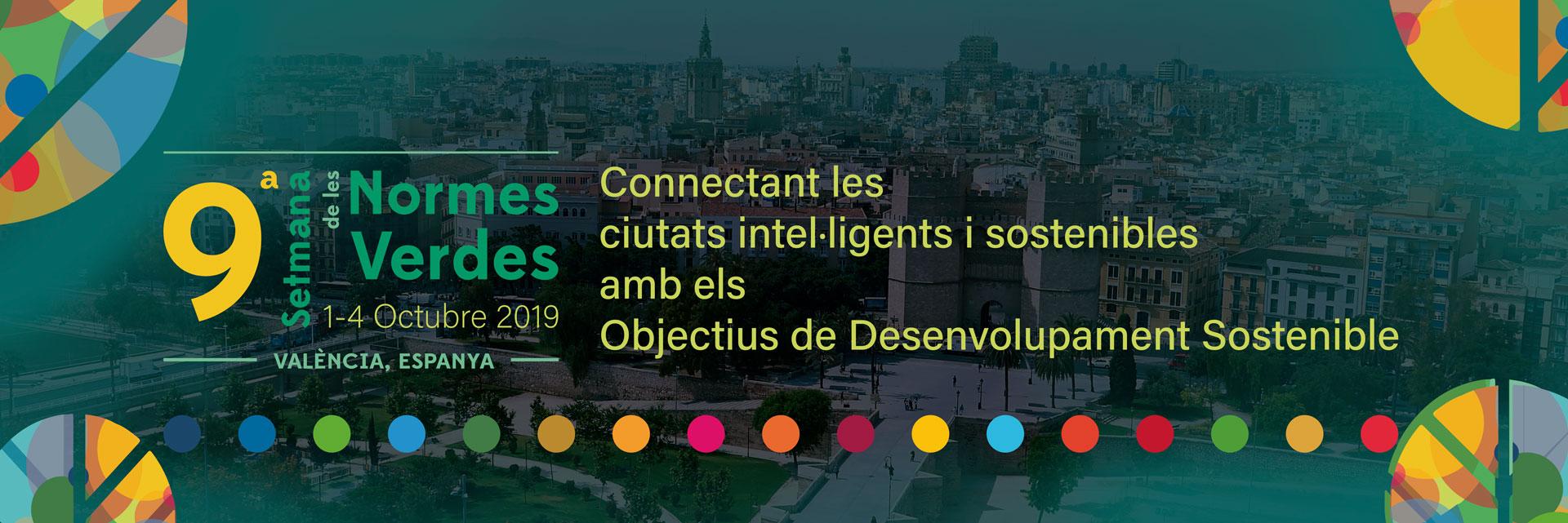 9ª Setmana de les Normes Verdes - Connectant les ciutats amb els Objectius de Desenvolupament Sostenible