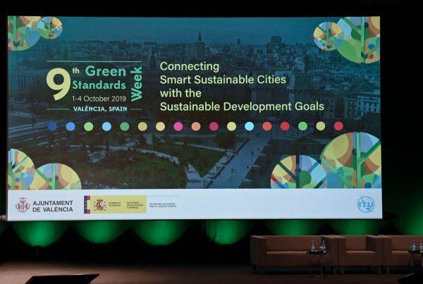 Joan Ribó en la 9ª Setmana de les Normes Verdes - Connectant les ciutats amb els Objectius de Desenvolupament Sostenible