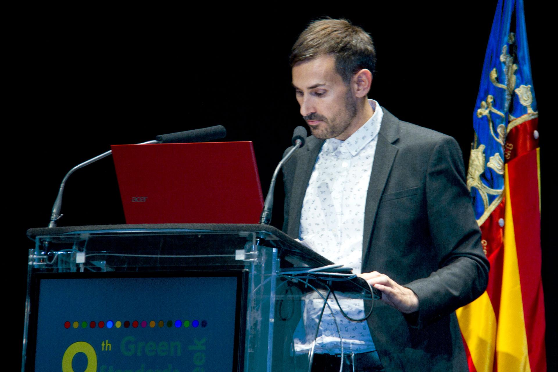 Sergi Campillo en la 9ª Semana de las Normas Verdes - Conectando las ciudades con los Objetivos de Desarrollo Sostenible