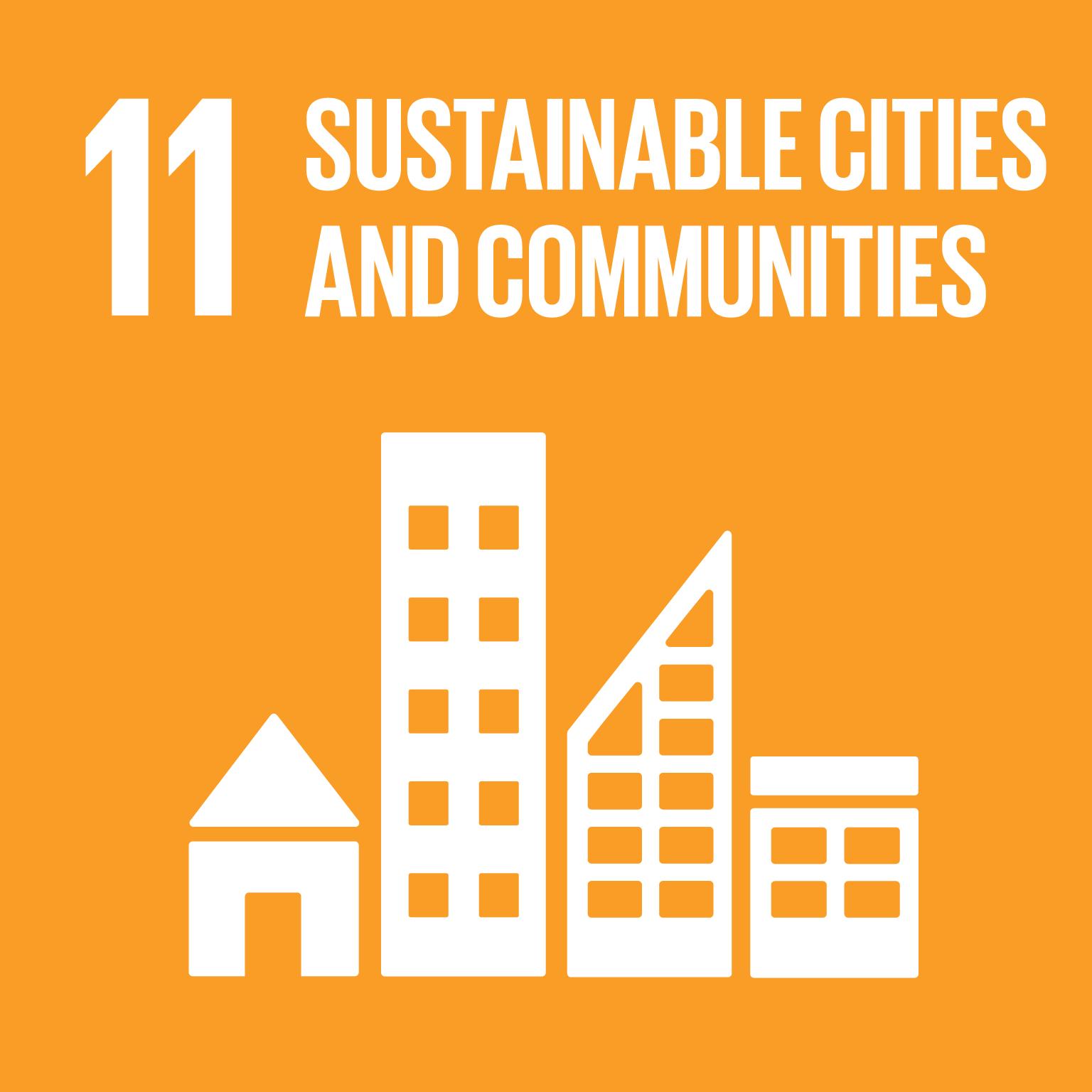 Sustainable Development Goals 11 sustainable cities communities