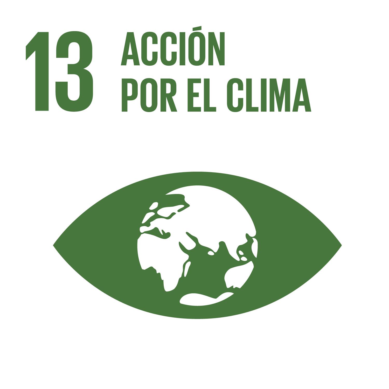 Objectiu 13: Adoptar mesures urgents per a combatre el canvi climàtic i els seus efectes