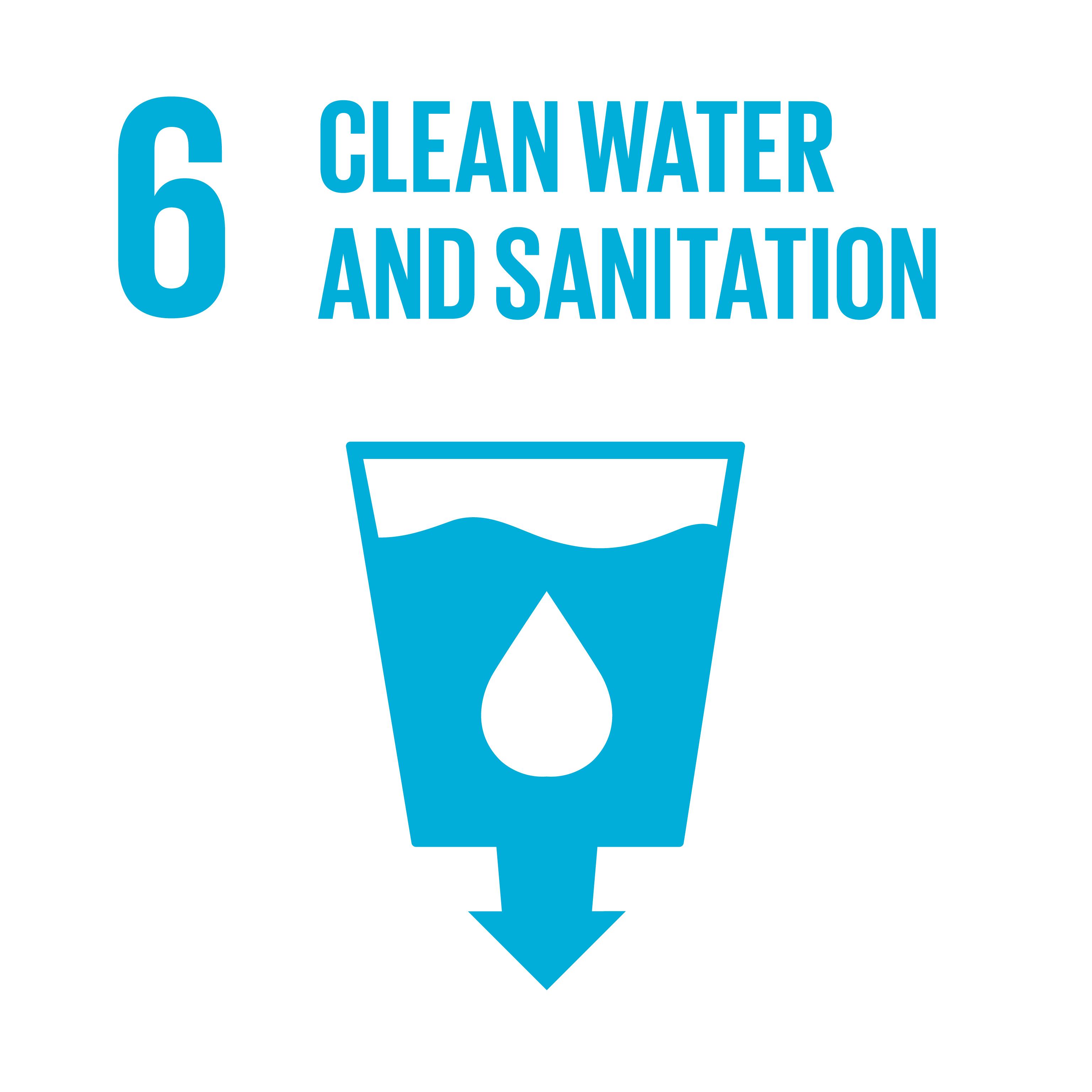 Sustainable Development Goals 06 clean water sanitation