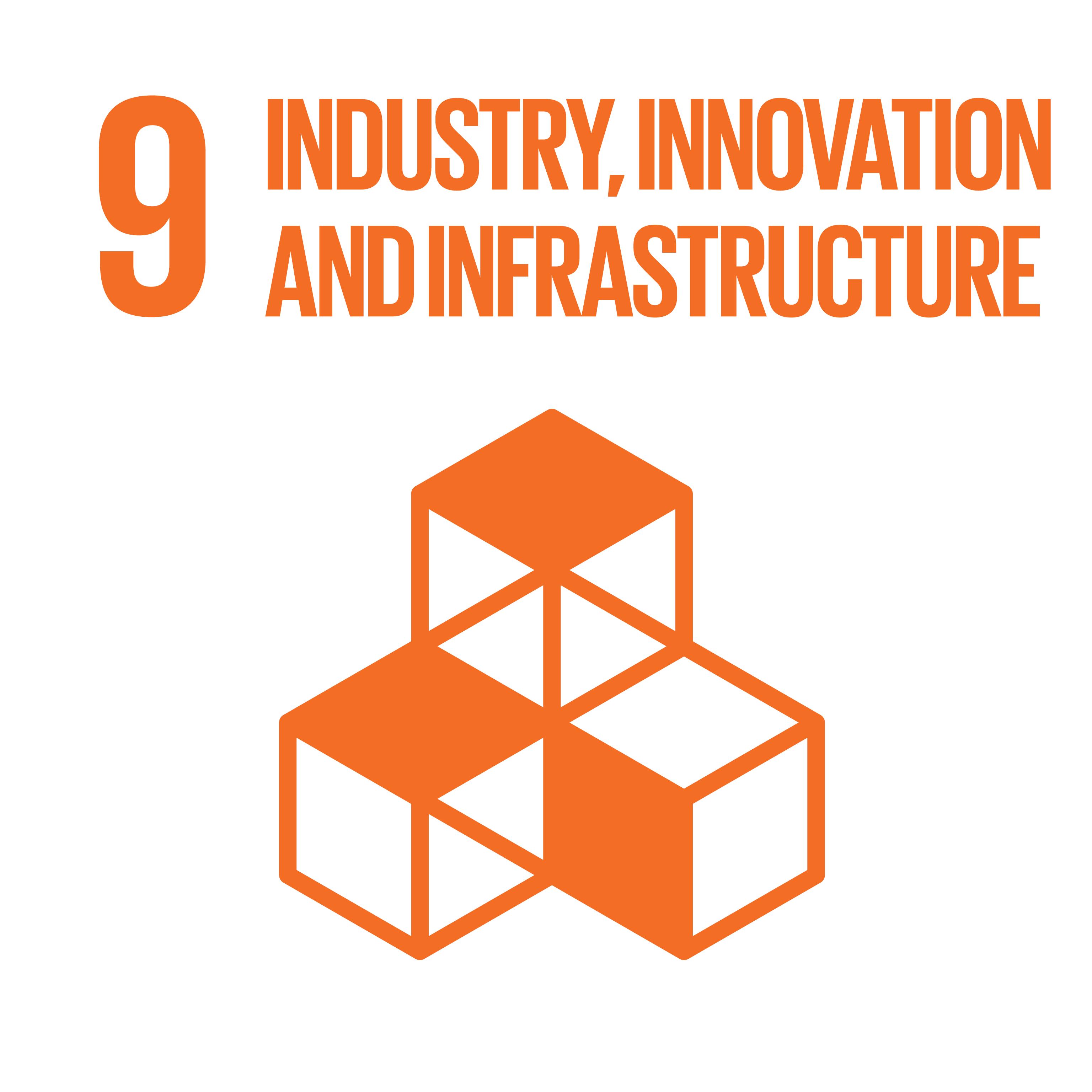 Sustainable Development Goals 09 industry innovation infrastructure